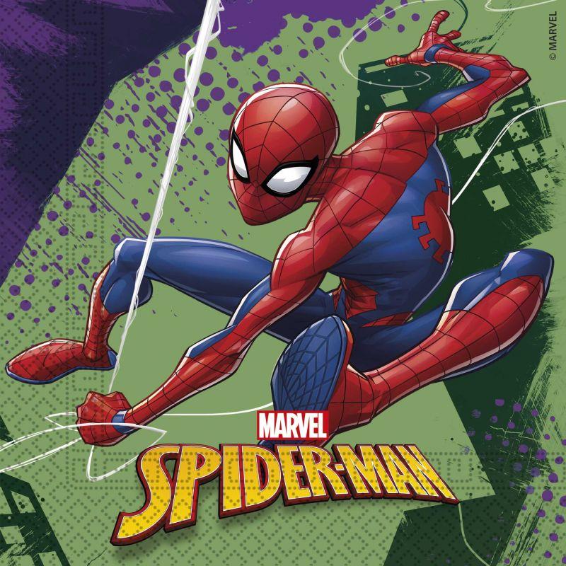 Papírové ubrousky Spiderman / vecizfilmu