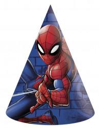 Papírové kloboučky Spiderman