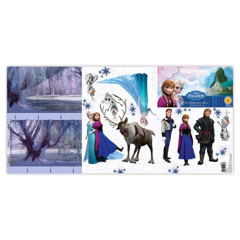 Vystřihovánky Frozen / Ledové Království / vecizfilmu