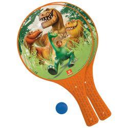 pálky plastové s míčkem Hodný Dinosaurus
