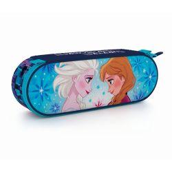 Oválné pouzdro Frozen / Elsa a Anna