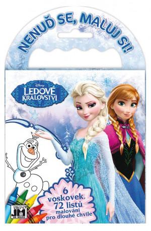 Cestovní omalovánky Frozen / Ledové království / vecizfilmu