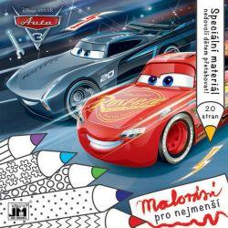 Omalovánka Cars 3 - Malování pro nejmenší / vecizfilmu