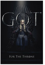 Plakát Daenerys / Hra o Trůny / Game Of Thrones / vecizfilmu