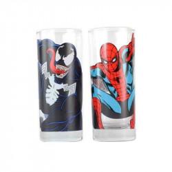 Sklenice Venom a Spiderman