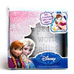 Hrnek Plastový K Vymalování Frozen - Ledové Království
