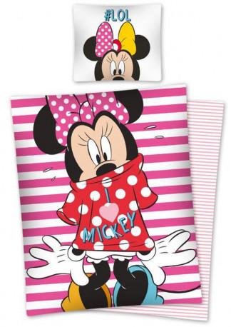 Povlečení Minnie Mouse / LOL / vecizfilmu