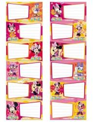 Samolepky na školní sešity Minnie Mouse / vecizfilmu