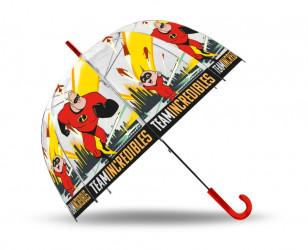 Průhledný deštník Úžasňákovi / vecizfilmu