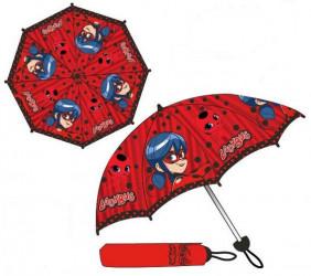 Skládací deštník Zázračná Beruška / Miraculous Ladybug / vecizfilmu