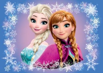 Koupelnová předložka Frozen / vecizfilmu
