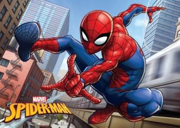 Koupelnová předložka Spiderman / vecizfilmu