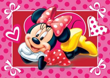 Koupelnová předložka Minnie Mouse / vecizfilmu