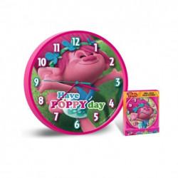 Nástěnné hodiny Trollové / Poppy / vecizfilmu