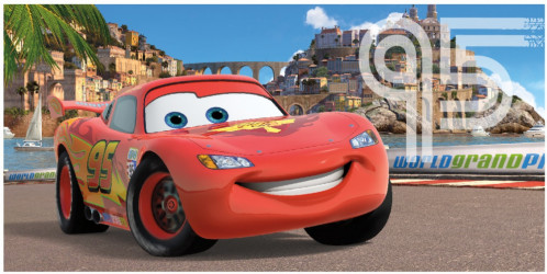 Osuška Cars / Auta / vecizfilmu