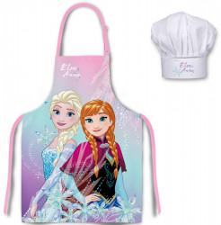 Kuchyňská zástěra a čepice Frozen Pink / vecizfilmu