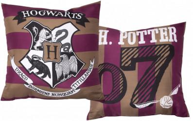 Polštář Harry Potter Hogwarts / vecizfilmu