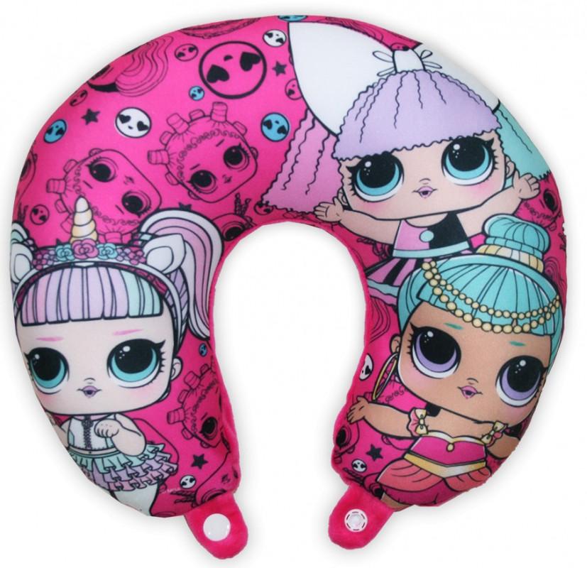 Cestovní polštářek LOL Surprise Pink / vecizfilmu