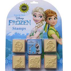 Razítka 5+1 Frozen - Ledové Králoství