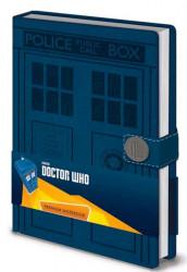 BLOK / ZÁPISNÍK A5 / DOCTOR WHO / TARDIS
