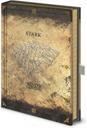 BLOK / ZÁPISNÍK A5 / GAME OF THRONES / STARK WORN