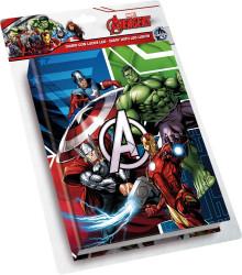 Diář Avengers s LED světýlky / vecizfilmu