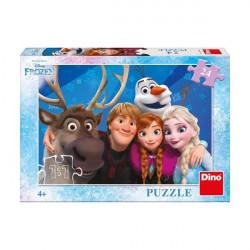 Puzzle Frozen 24 dílků / vecizfilmu