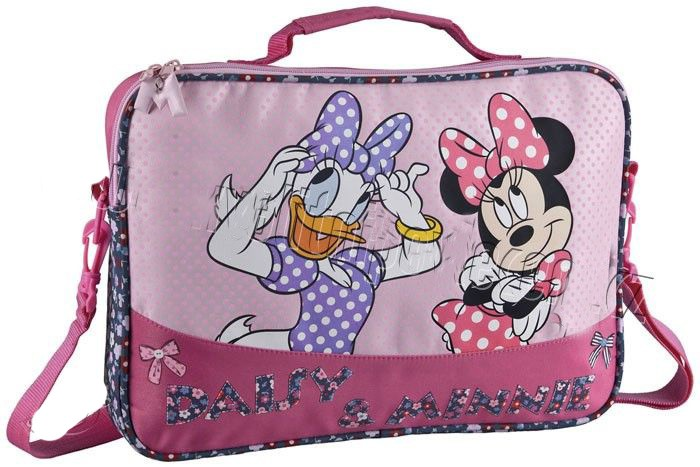 Taška na rameno Daisy a Minnie 37 cm