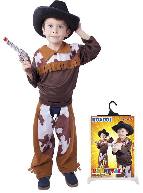 karnevalový kostým kovboj, vel. S