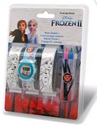 Hodinky a náramky k vybarvení Frozen 2 / vecizfilmu
