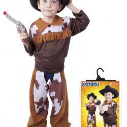 karnevalový kostým kovboj, vel. M
