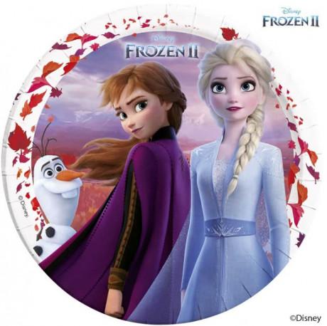 Talířky Frozen 2 / Olaf / vecizfilmu