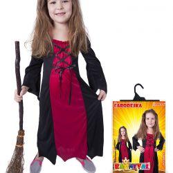 kostým čarodějnice levná vel. M