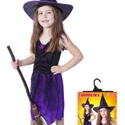 kostým čarodějnice s kloboukem vel. M