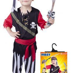kostým pirát vel. S
