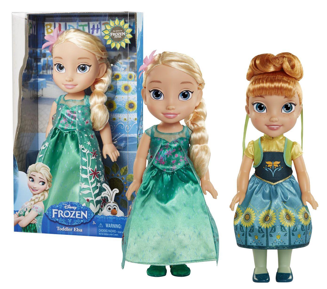 panenka FROZEN-Ledové království Fever- Elsa a Anna 36 cm