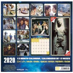 KALENDÁŘ 2020 / STAR WARS CLASSIC (30 x 30/60 cm) / VĚCI Z FILMŮ