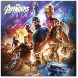 KALENDÁŘ 2020 / AVENGERS (30 x 30/60 cm) / MARVEL / VĚCI Z FILMU