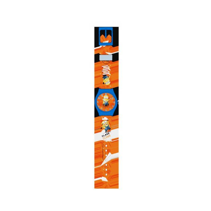 Hodinky analogové Mimoni Dárkové balení oranžové