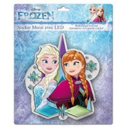 3D LED svítící nálepka Frozen
