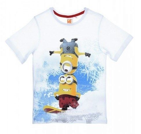 Tričko s krátkým rukávem MIMONI, barva bílá