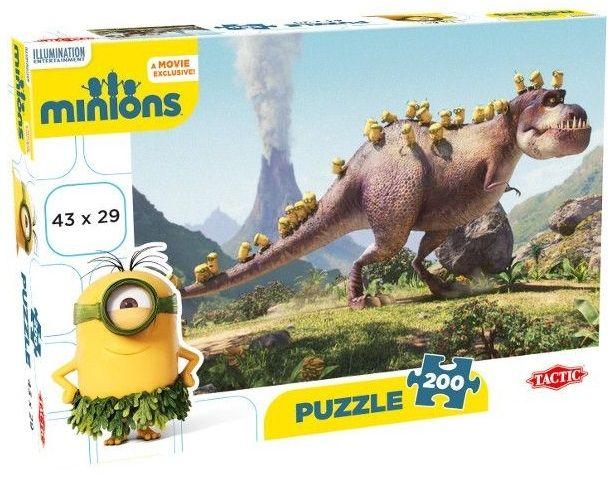 Puzzle s Mimoni 200 dílků
