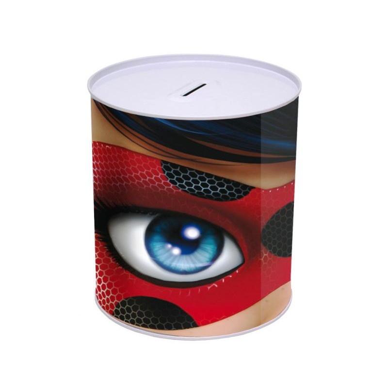 Pokladnička Zázračná beruška / Miraculous Ladybug 15 x13,5 cm