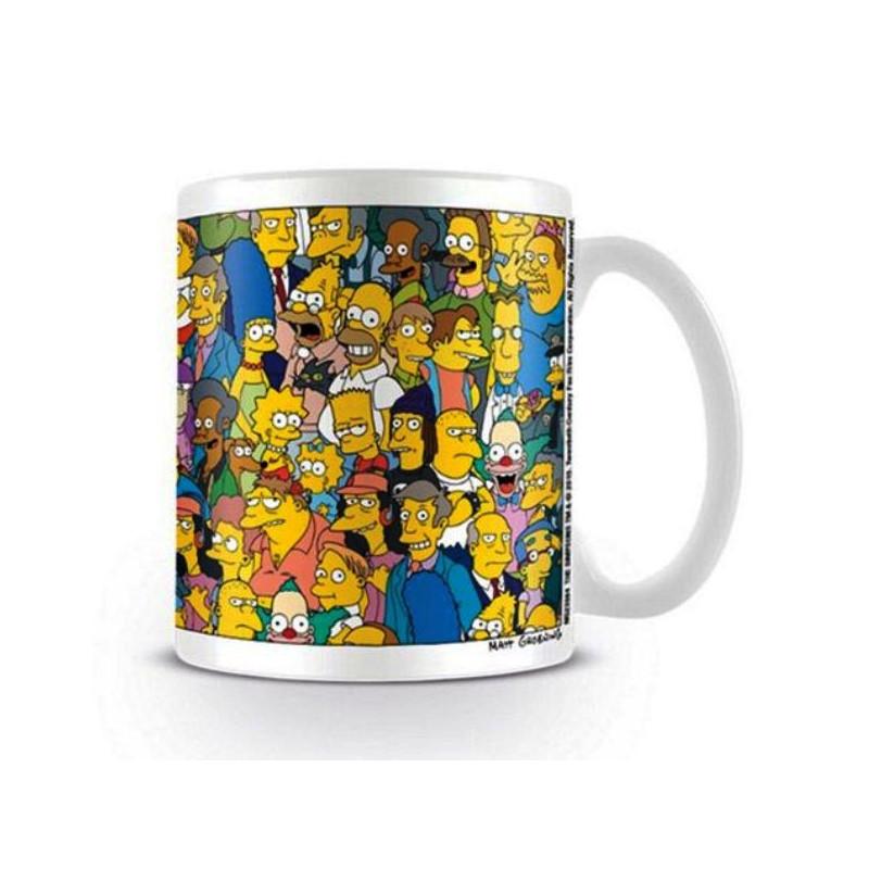 Hrnek Keramický Simpsnovi / The Simpsons 315 Ml Bílý