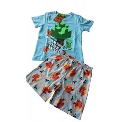 Pyžamo / letní set Minecraft