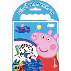 Omalovánka na cesty Prasátko Peppa / Peppa Pig