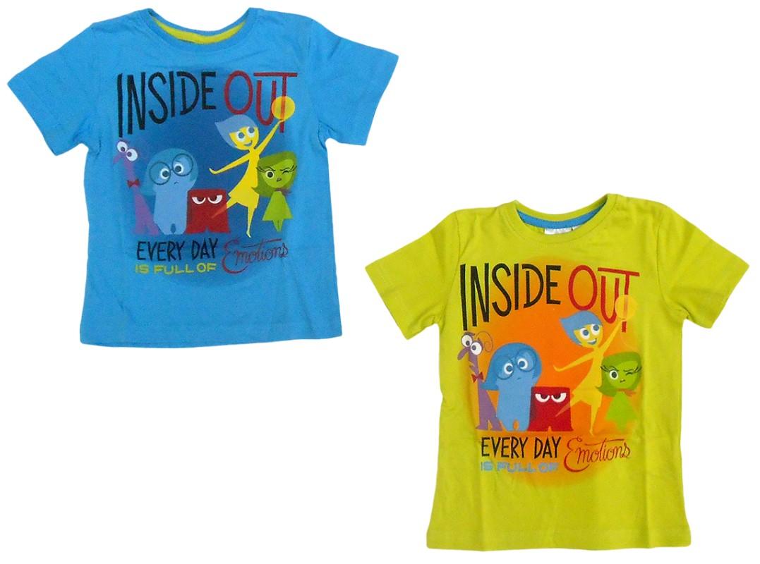 Chlapecké tričko s motivem V hlavě / vecizfilmu