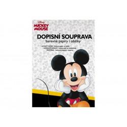 Dopisní barevná souprava Disney Mickey Mouse / A4