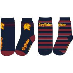 Ponožky Harry Potter / Gryffindor / 2 páry