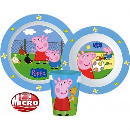 Jídelní sada Prasátko Peppa / Peppa Pig